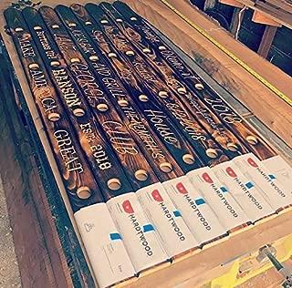 Personalized Engraved Wood Ski