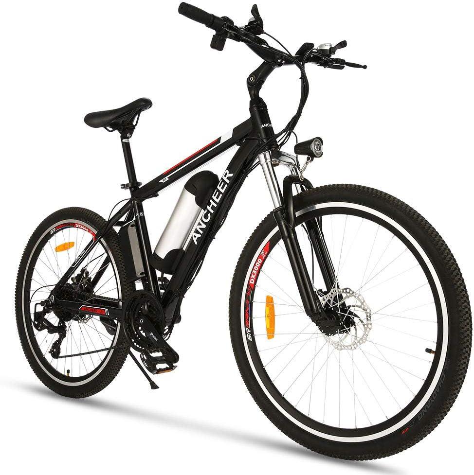 ANCHEER Electric Bike 250W 500W 直輸入品激安 20M Bicycle 26'' Ebike 新着セール