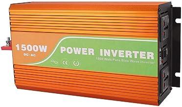 Onduleur 1500 W, convertisseur onduleur solaire haute fréquence à onde sinusoïdale..