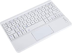 ASHATA Bluetooth Touchpad Keyboard, Portable Wireless Keyboard with Touchpad,9in Scissors Feet Design Ultra Slim Bluetooth Keyboard for Android/iOS/Windows