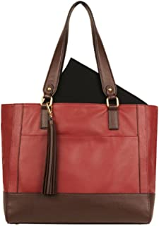 Wilsons Leather Madison Tote (Scarlet)