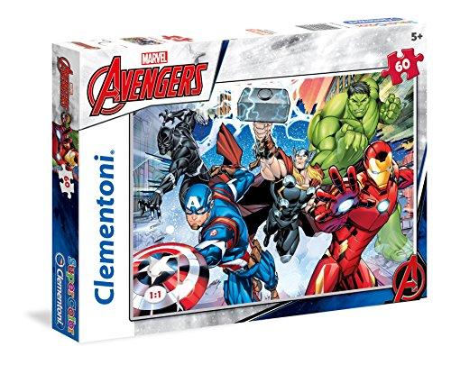 Clementoni The Avengers Supercolor Puzzle, 60 Pezzi, 26979