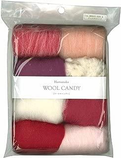 Hamanaka wool Candy 8 color set (Jewel Pink) # 1 (japan import)