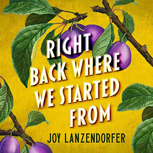 Right Back Where We Started From Audiobook By Joy Lanzendorfer cover art