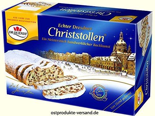 Christstollen echter Dresdner 1000g ++DDR Traditionsprodukt und Ossi Kultprodukt