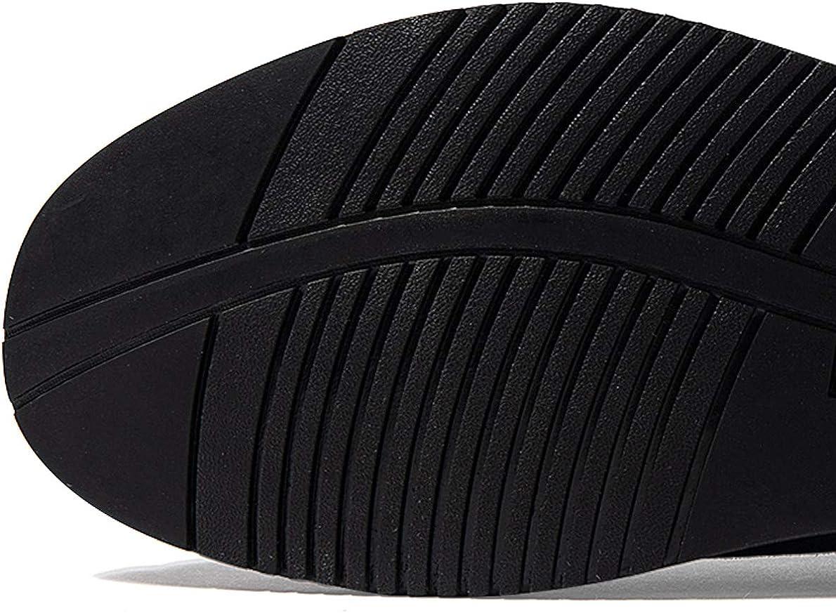 KEENPACE Hommes Chaussures Urbaines en Cuir Su/éd/é /À Lacets Classique Business Brogue Casual Chaussures