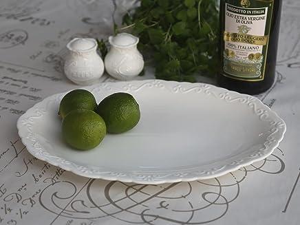 """Preisvergleich für Chic Antique große Servierplatte oval """"Provence"""" nostalgisch Porzellan Schale Teller"""