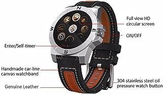 Pinkbenmus - Fitness Tracker Pulsera Inteligente Monitor/Compatible con IOS8 + / Android4.3 + Reloj Deportivo Bluetooth, Cámara remota, Frecuencia del Latido, Rastreador de GPS