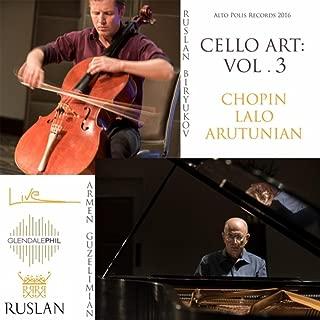 Cello Art, Vol. 3 (Live)