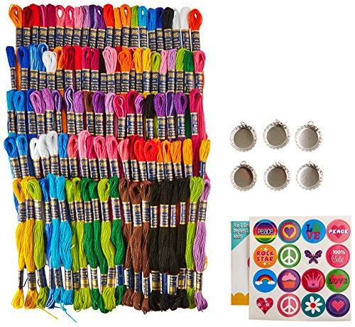 IRIS Capsules de Bouteilles Bold Lumineux de Craft Kit, Coton, Multicolore, 22 x 18 x 4 cm