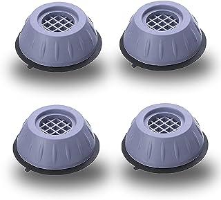 JINCHENG Tampons À Pied Machine À Laver Tapis Anti-Vibration 4 Pièces Universel Pieds Stabilisateur Piédestal, Caoutchouc ...