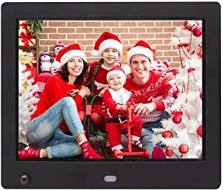 Digital Photo Frame, 8-inch 1024×768 with Motion Sensor MP3 / MP4 Player Multi-Function Advertising Machine Electronic Pic...