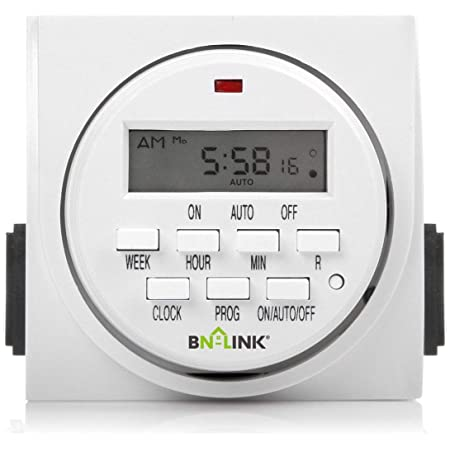 220V AC 1 Second Interval 7 Day Heavy Duty Digital Electric Programmable Timer