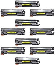 Kit 10 toner compatível Hp Cf283a 83a M125a M201 M225 M226
