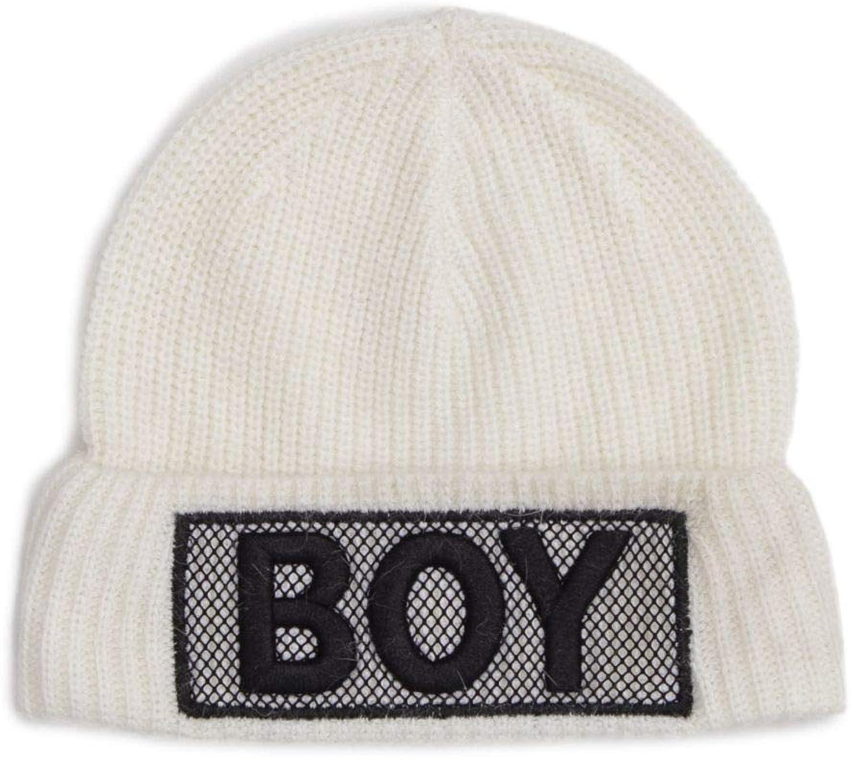 Boy London Women's BLA204WHITE White Polyester Hat