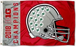 College Flags and Banners Co. Ohio State Buckeyes Big Ten Football Conference Champions Flag