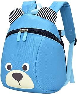 Ronshin Fashion Kid Cute Bear Pattern Schoolbag Cartoon Backpack Shoulder Bag for 1-5 years Kindergarten Children