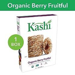 Kashi, Breakfast Cereal, Organic Berry Fruitful, Non-GMO Project Verified, 15.6 oz