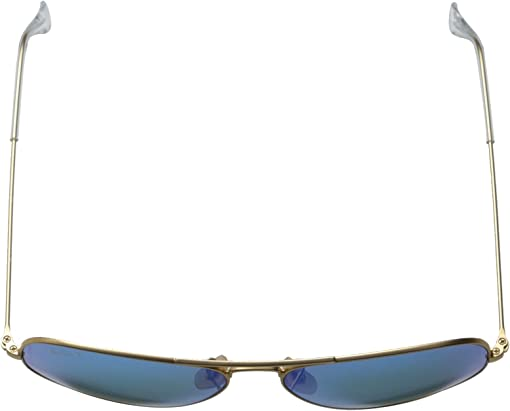 Matte Gold/Blue Mirror Polar