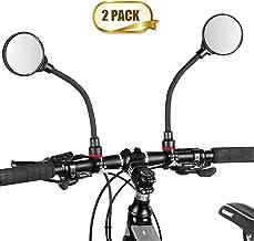 Newlight66 Bike Mirror, Adjustable Handlebar Rear View Mirrors For Mountain Road Bike..