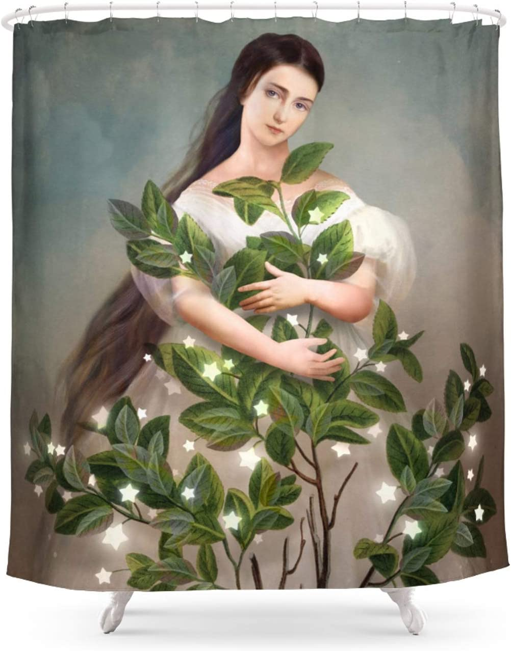 Society6 Embrace The Max 47% OFF Light by Christian on Shower Max 74% OFF Schloe Curtain