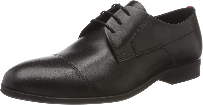 Hugo 50432985 Hombre Oxford Plano, Black1, 45 EU