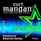Curt Mangan Fusion Matched Nickel Wound Electric Strings (10-46) by Curt Mangan