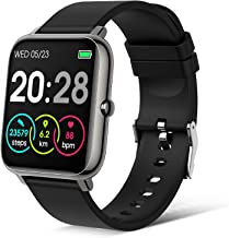 PIBO Smart Watch 2021 Ver. Watches for Android/iOS Phones,IP67 Waterproof Activity Tracker with 1.4 Inch Touch Screen, Ped...
