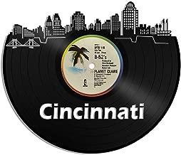 VinylShopUS - Cincinnati Vinyl Wall Art City Skyline Unique Gift