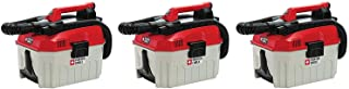 PORTER-CABLE PCC795B 20V MAX Wet/Dry Vacuum (Tool Only), 2 Gallon (Pack of 3)