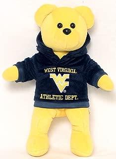 NCAA West Virginia Mountaineers Hoodie Bear
