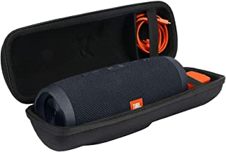 Khanka Carrying Case for JBL Charge 3 Waterproof Portable Wireless Bluetooth Speaker. Extra Room...