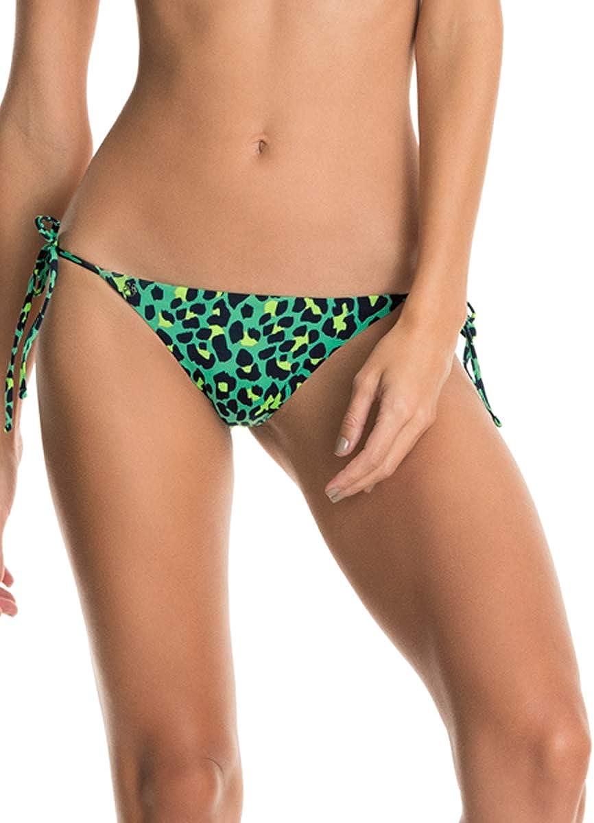 Maaji Women's Standard Tabby Cat Sunny Bikini Tie Side Cheeky Cut
