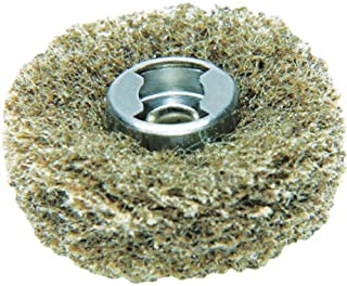 Dremel 511E EZ Lock Coarse Grit and Medium Grit Finishing Abrasive Buffs, 2-Pack