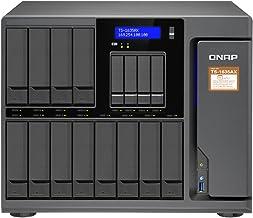 QNAP TS-1635AX-8G-US 12+4 Bay, Marvell Armada 8040 Quad-core 1.6GHz, 8GB DDR4 RAM, 2X M.2 2280 SATA Slots, 2X 10GbE SFP+ L...