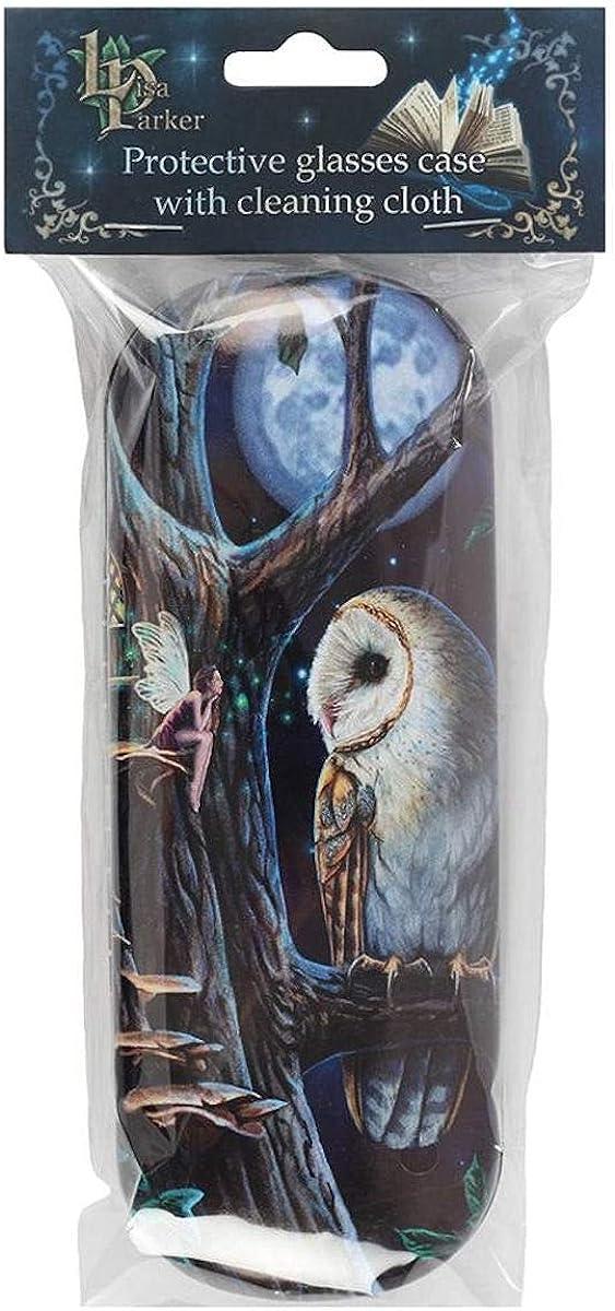 Fairy Tales (Owl) Eye Glass Case by Lisa Parker