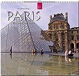 PARIS - Die Stadt der Liebe - Original Stürtz-Kalender 2017 - Mittelformat-Kalender 33 x 31 cm
