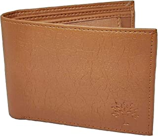 Woodland Leather Wallet Men's Artificial Leather Wallet (Tan)
