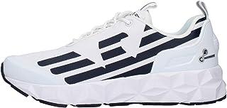 EA7 X8X033 Sneakers con Lacci in Tessuto da Uomo