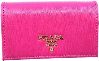 Vitello Move Card Holder Fuchsia Pink Leather Pouch Wallet 1MC122