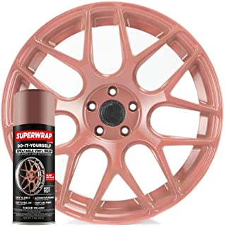 Superwrap Sprayable Vinyl Wrap - Frozen Matte Finish - Covers 4 Car Wheels 20