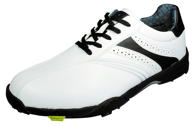 ハイブリッド同情申し立てる[リンクス] ゴルフ スパイク ホワイト/ブラック LXSH-7568