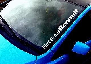 Megane 5 x RENAULT GPS dispositivo di tracciamento per di sicurezza finestra per eliminare le mosche 87 x 30 mm-Clio Sc/énic Van allarme Tracker Espace da auto Twingo Laguna