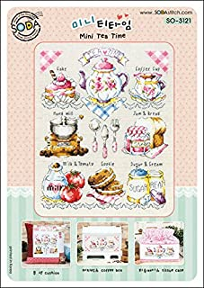 Best tea time cross stitch pattern Reviews