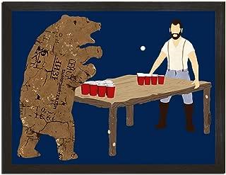 Sharp Shirter Bear Pong Art Print