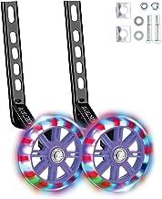 Kids' Bicycle Training Wheels Flash Mute Heavy Duty Rear Wheel with Stabilizers..