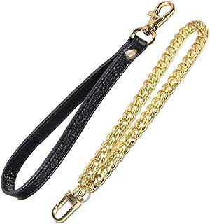 UTreers Wristlet Strap, Genuine Leather Keychain Wristlet KeyChain Hand Strap for Wallet Purse Clutch Cellphone Wristlet Key