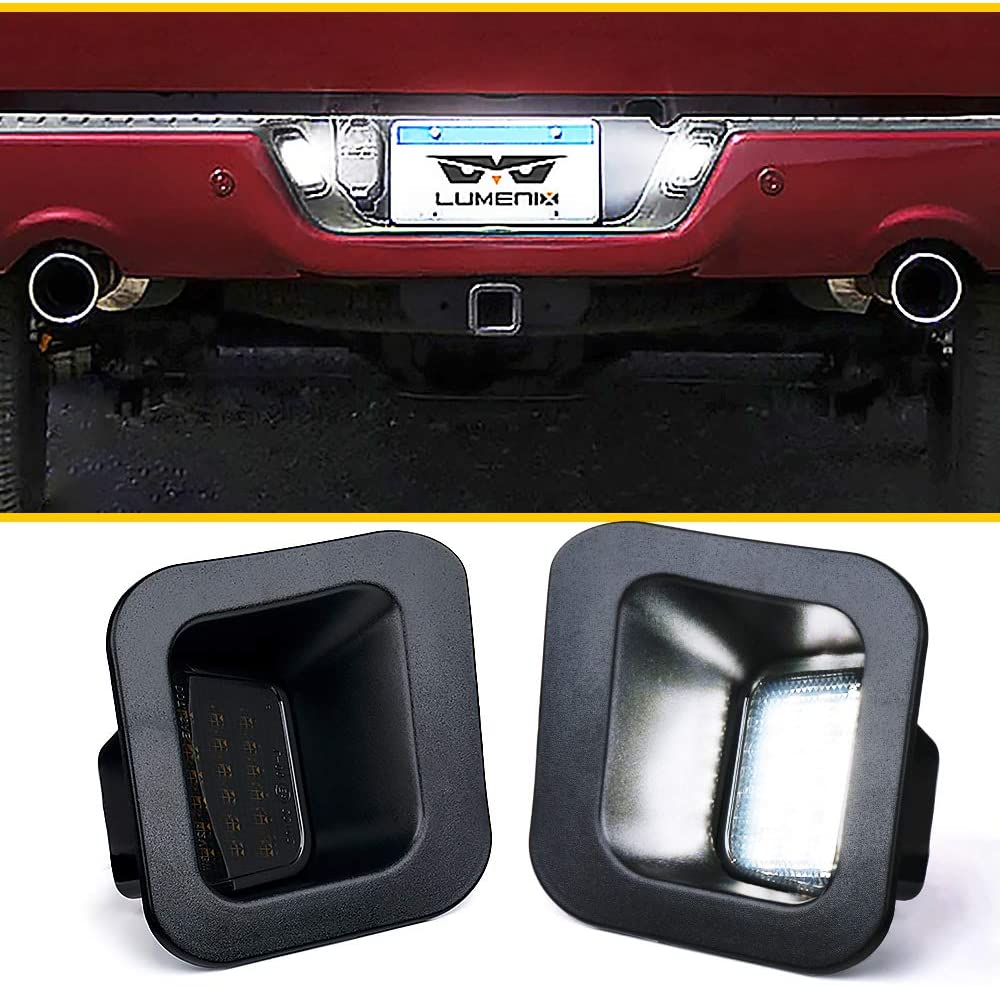 Full LED License Plate Light 55% OFF 2003-2018 Super popular specialty store with Assembly Compatible