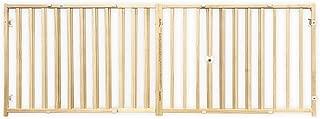 Four Paws Vertical Wood Slat Dog Gate, 51-93