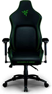 Razer Iskur Gaming-Chair: Ergonomic Lumbar Support System - Multi-Layered Synthetic Leather Foam Cushions - Engineered to ...
